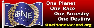 One Planet Accord Bumper Sticker.
